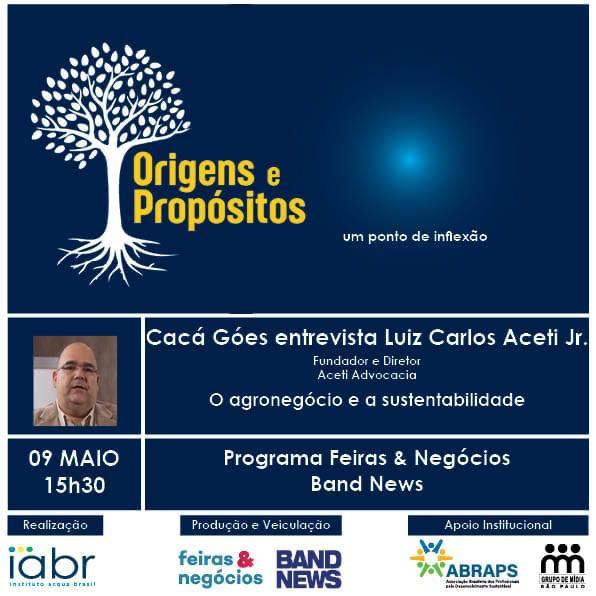 Entrevista ao Programa Origens e Propósitos Episódio 6 – Luiz Carlos Aceti